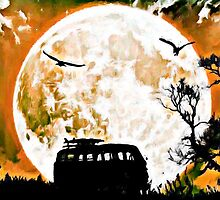 VW Harvest Moon by Sharon Poulton