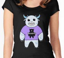I believe- Yeti Women's Fitted Scoop T-Shirt