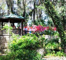State Park Garden Gazebo by AuntDot