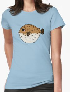 Globefish chibi Womens Fitted T-Shirt