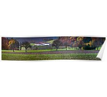 Countryside Fall Poster