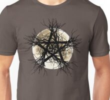 Pentagram and Moon Unisex T-Shirt