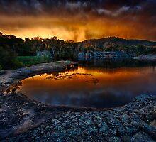 Wollemi Sunset by Ian English