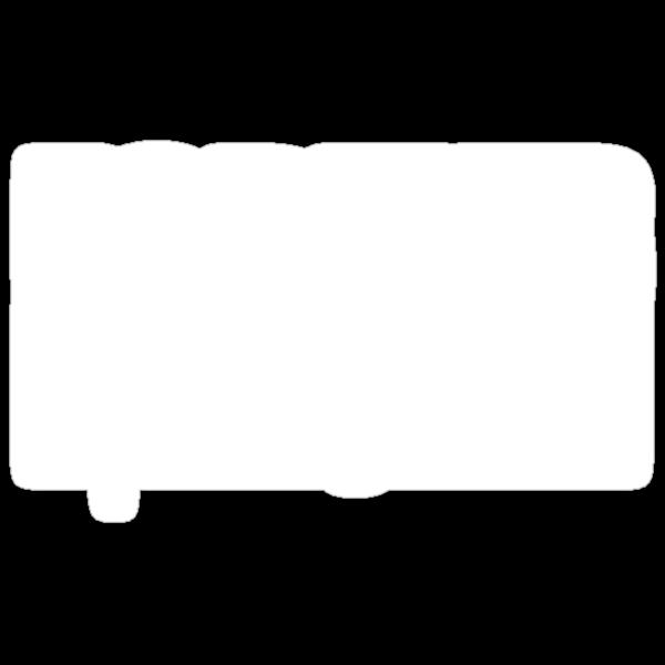 Former Fat Boys Logo Tee - White Logo by formerfatboys