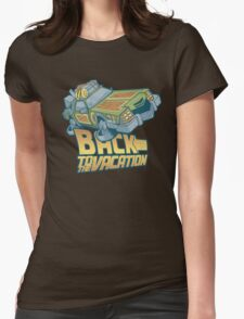 Back to the Vacation! Womens Fitted T-Shirt