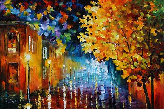 MAGIC RAIN - LEONID AFREMOV by Leonid  Afremov