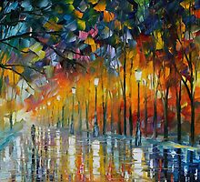 ICE REFLECTIONS - LEONID AFREMOV by Leonid  Afremov