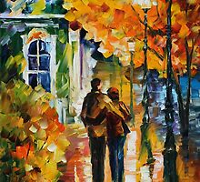 AFTER THE DATE - LEONID AFREMOV by Leonid  Afremov