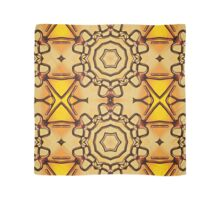 3d abstract pattern in the shape of flowers Scarf