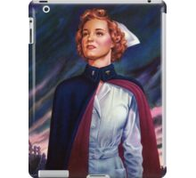 Nurses are needed now - Vintage WWII Poster iPad Case/Skin