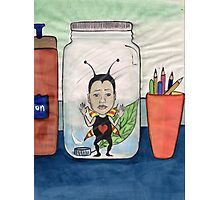 Bug in a jar Photographic Print