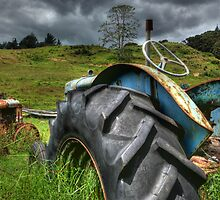 TRACTOR GRAVEYARD..............! by Roy  Massicks