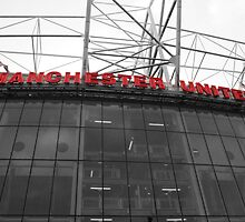 Old Trafford, The theatre of dreams. by bharah