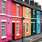 Rainbow Houses by Paul Barnett