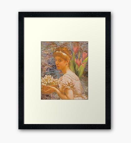 An Offering Framed Print