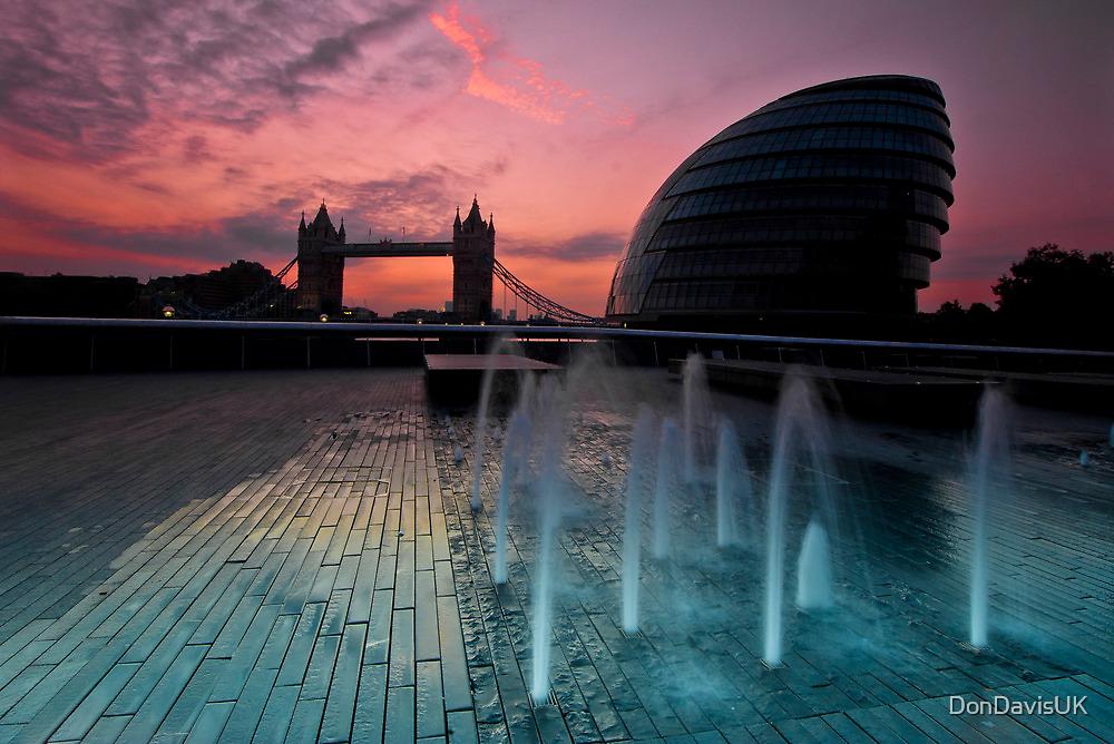 Southbank Sunrise: Tower Bridge & City Hall by DonDavisUK