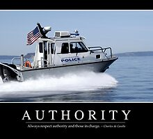Authority: Inspirational Quote and Motivational Poster by StocktrekImages