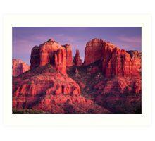 Cathdral Rock of Sedona, Arizona Art Print