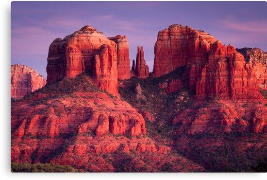Cathdral Rock of Sedona, Arizona by cavaroc