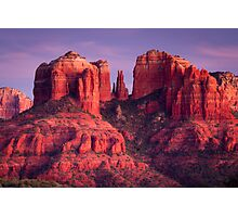 Cathdral Rock of Sedona, Arizona Photographic Print