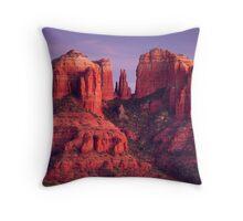 Cathdral Rock of Sedona, Arizona Throw Pillow