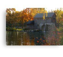 Old Mill Pond Metal Print