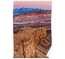 Sunset Point, Capitol Reef National Park Poster