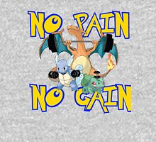 No pain no gain Pokemon T-Shirt
