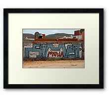 Maria Graffiti Framed Print