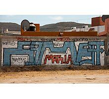 Maria Graffiti Photographic Print