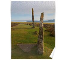 Brodgar Stones in the Evening Poster