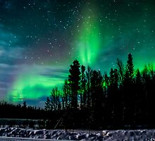 January ends with the Auroras by peaceofthenorth