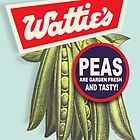 Wattie's Peas 1963 by Darian  Zam
