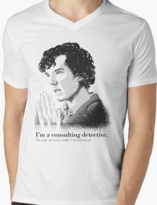 A Study in Type Mens V-Neck T-Shirt