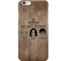 The Tale of the Three Brothers (Harry Potter) iPhone Case/Skin