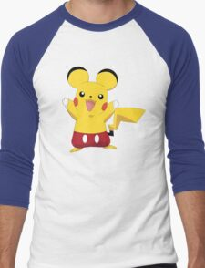 Mickeychu Men's Baseball ¾ T-Shirt