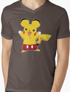 Mickeychu Mens V-Neck T-Shirt