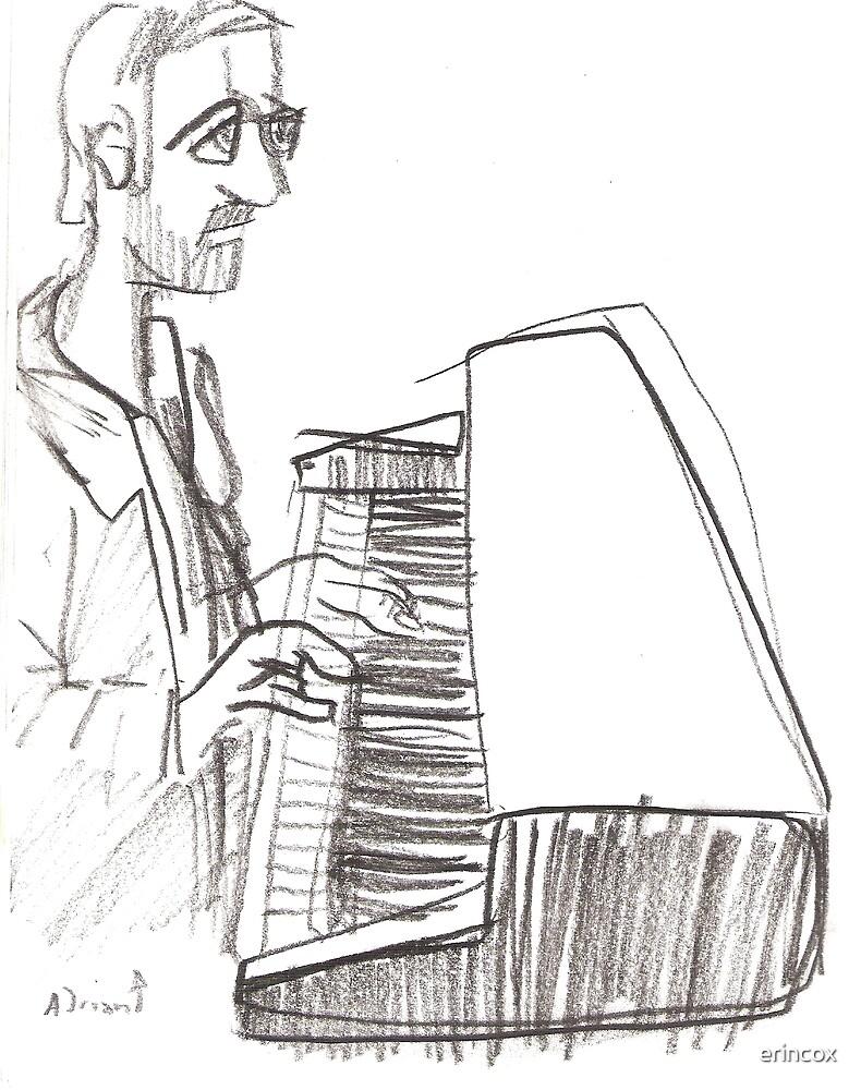 Keyboard player by erincox