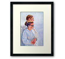 Love is Cool Framed Print