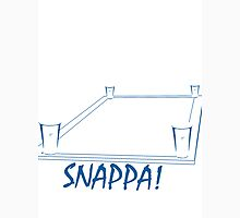 SnappaTable-WhiteBlue Unisex T-Shirt