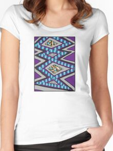 POLYJAM THREE. Women's Fitted Scoop T-Shirt