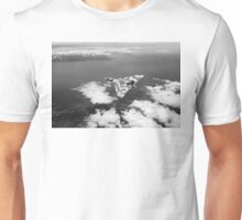 Vulcan over South Wales Unisex T-Shirt