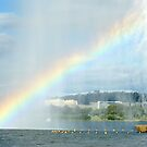 Captain Cook Fountain Rainbow by Ross Campbell