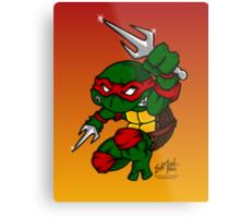 Raphael Teenage Mutant Ninja Turtle Metal Print