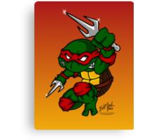 Raphael Teenage Mutant Ninja Turtle Canvas Print
