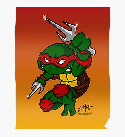 Raphael Teenage Mutant Ninja Turtle Poster