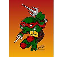 Raphael Teenage Mutant Ninja Turtle Photographic Print