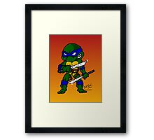 Leonardo Teenage Mutant Ninja Turtles Framed Print