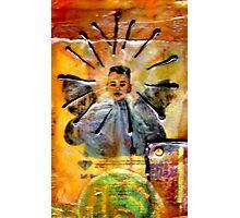 Baby Josh... My Angel Photographic Print