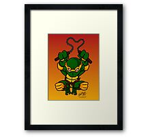 Michaelangelo Teenage Mutant Ninja Turtles Framed Print